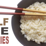 rice calories reduced coconut oil