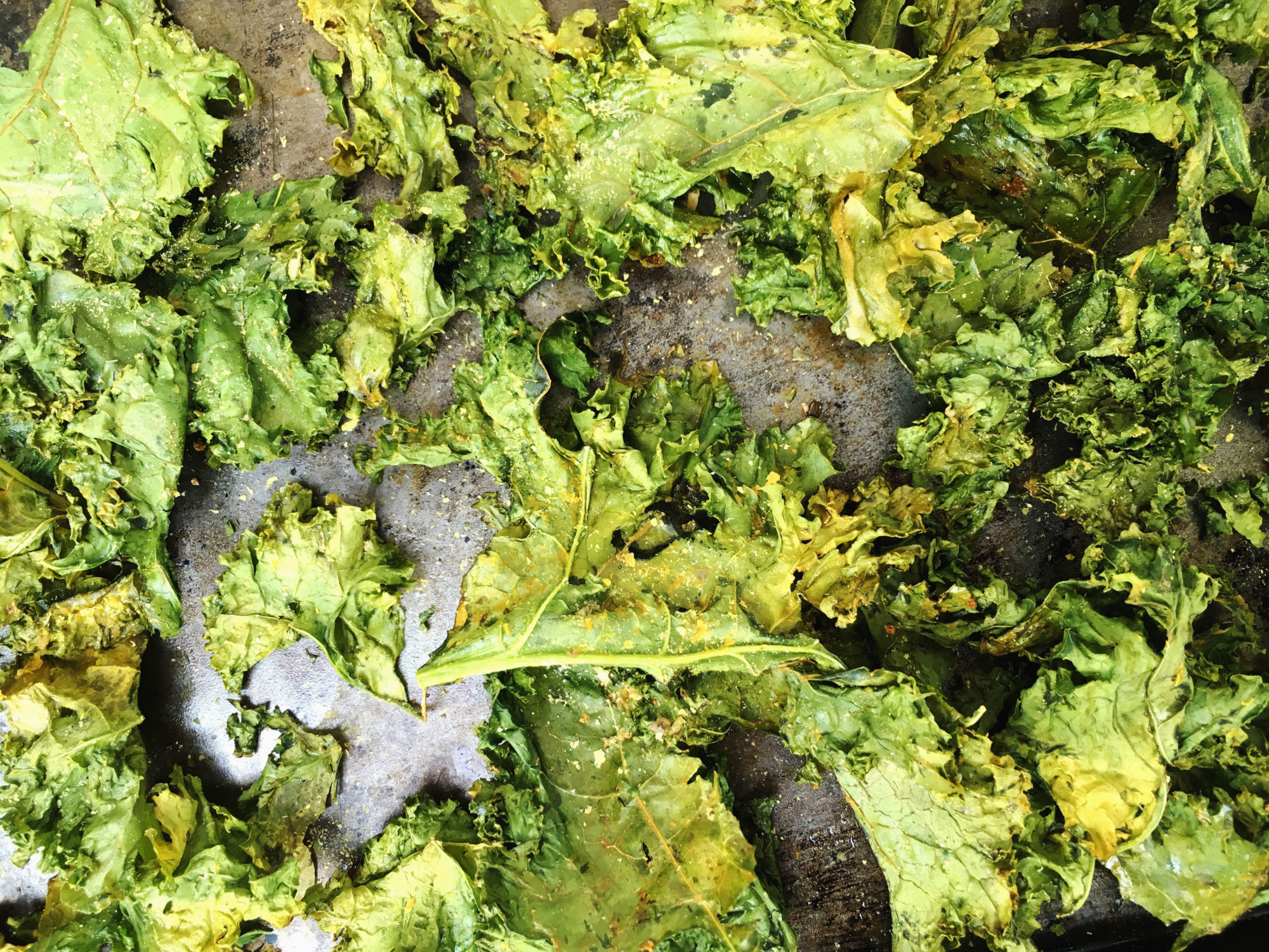 Cheesy Ranch Kale Chips