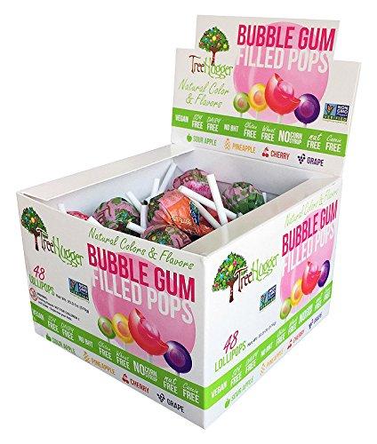 Tree Hugger Bubble Gum Lollipops