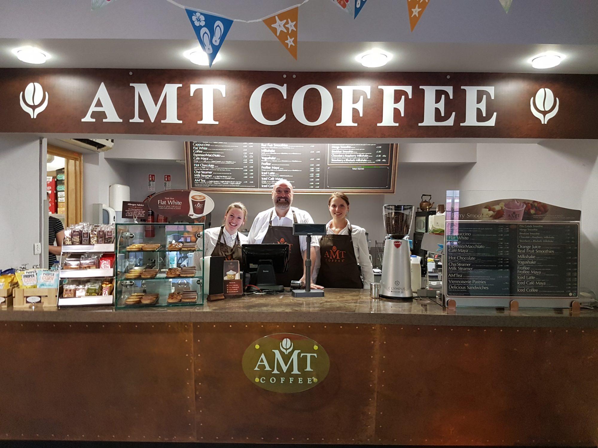 amt coffee vegan options