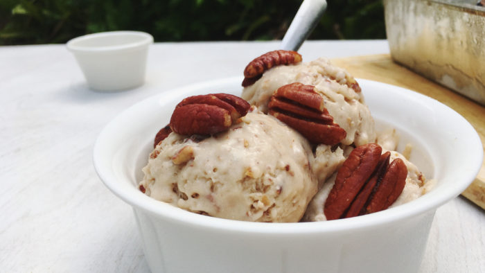vegan butter pecan ice cream recipe