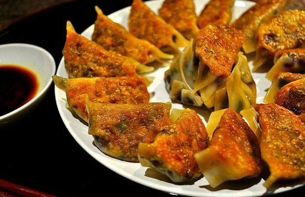 Japanese Seitan Dumplings (Gyoza)
