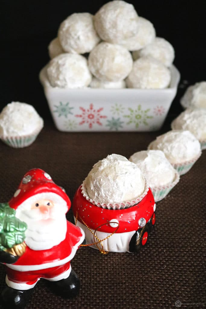 Nutty Snowball Cookies