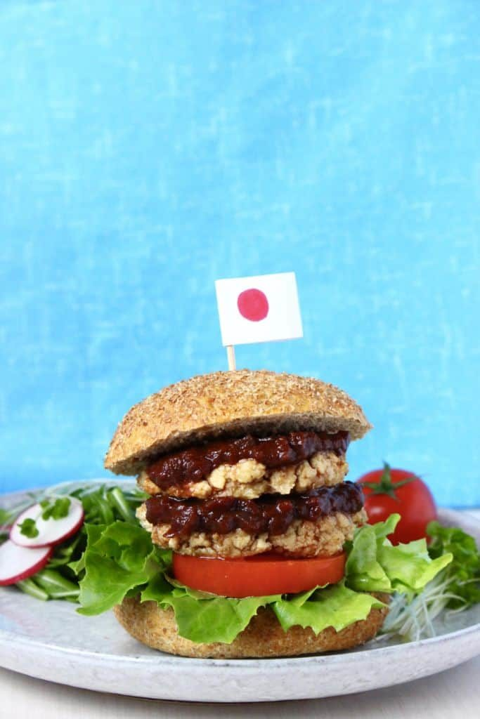Vegan Japanese Burger (GF)