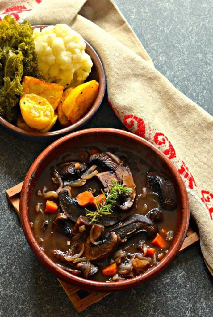 Vegan Portobello Pot Roast