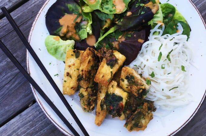 crispy thai tofu recipe