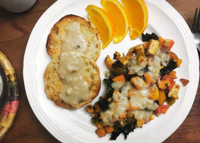 vegan sweet potato hash recipe
