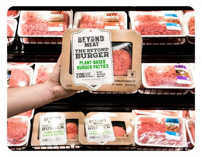 Beyond Meat section