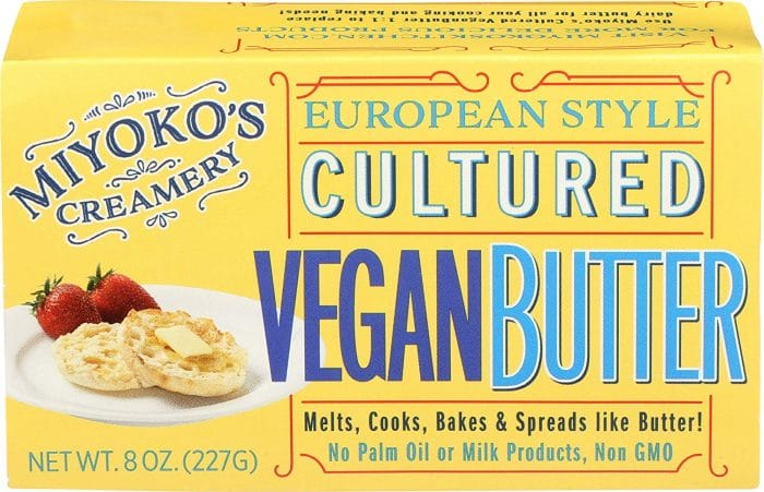 Miyoko's Creamery European Style Cultured Vegan Butter