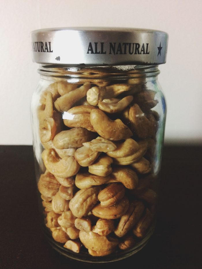 Cashew Nuts Jar
